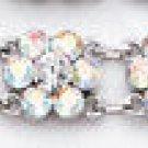 Swarovski Clear Crystal Daisy Bracelet