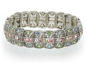 Swarovski Multi Colored Crystal Bracelet