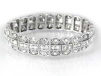 Swarovski Bracelet With Clear Crystals