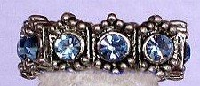 Swarovski Light Sapphire Lace Ring