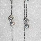 Swarovski Long Dangle Clear Earrings