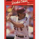 1990 Donruss Baseball #549 Dickie Thon - Philadelphia Phillies