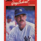 1990 Donruss Baseball #545 Greg Cadaret - New York Yankees