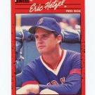 1990 Donruss Baseball #539 Eric Hetzel - Boston Red Sox