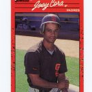 1990 Donruss Baseball #538 Joey Cora - San Diego Padres