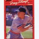 1990 Donruss Baseball #535 Doug Strange RC - Detroit Tigers