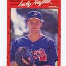 1990 Donruss Baseball #523B Andy Nezelek - Atlanta Braves