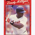 1990 Donruss Baseball #519 Randy Milligan - Baltimore Orioles
