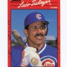 1990 Donruss Baseball #513 Luis Salazar - Chicago Cubs