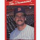 1990 Donruss Baseball #510 Tim Drummond RC - Minnesota Twins