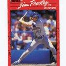 1990 Donruss Baseball #497 Jim Presley - Seattle Mariners