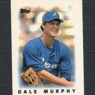 1986 Topps Mini Leaders Baseball #37 Dale Murphy - Atlanta Braves