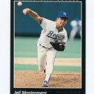 1993 Pinnacle Baseball #336 Jeff Montgomery - Kansas City Royals
