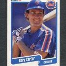 1990 Fleer Baseball #199 Gary Carter - New York Mets