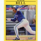 1991 Fleer Baseball #168 Derek Bell - Toronto Blue Jays