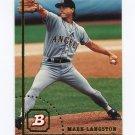 1994 Bowman Baseball #235 Mark Langston - California Angels