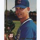 1994 Bowman Baseball #110 Derek Wallace - Chicago Cubs