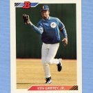 1992 Bowman Baseball #100 Ken Griffey Jr. - Seattle Mariners