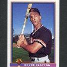 1991 Bowman Baseball #641 Royce Clayton - San Francisco Giants