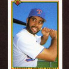 1990 Bowman Baseball #501 Harold Baines - Texas Rangers