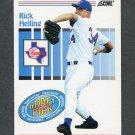 1993 Score Baseball #491 Rick Helling - Texas Rangers