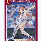 1991 Score Rookie/Traded Baseball #028T Candy Maldonado - Toronto Blue Jays