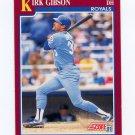 1991 Score Rookie/Traded Baseball #018T Kirk Gibson - Kansas City Royals