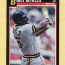 1991 Score Baseball #315 Bobby Bonilla - Pittsburgh Pirates