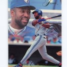 1993 Flair Baseball #289 Joe Carter - Toronto Blue Jays