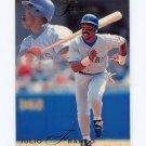 1993 Flair Baseball #279 Julio Franco - Texas Rangers