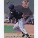 1993 Flair Baseball #042 Chris Jones - Colorado Rockies