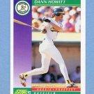 1992 Score Baseball #861 Dann Howitt - Oakland Athletics
