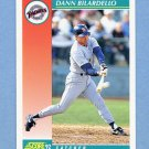 1992 Score Baseball #719 Dann Bilardello - San Diego Padres