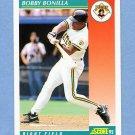1992 Score Baseball #225 Bobby Bonilla - Pittsburgh Pirates