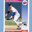 1992 Score Baseball #173 Mike Pagliarulo - Minnesota Twins