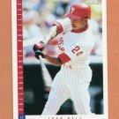 1993 Score Baseball #588 Juan Bell - Philadelphia Phillies