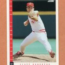1993 Score Baseball #584 Scott Bankhead - Cincinnati Reds