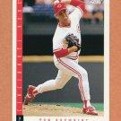 1993 Score Baseball #404 Tom Browning - Cincinnati Reds