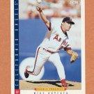 1993 Score Baseball #277 Mike Butcher - California Angels