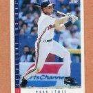 1993 Score Baseball #164 Mark Lewis - Cleveland Indians