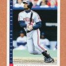 1993 Score Baseball #116 Sandy Alomar Jr. - Cleveland Indians