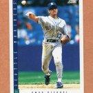 1993 Score Baseball #102 Omar Vizquel - Seattle Mariners