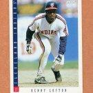 1993 Score Baseball #058 Kenny Lofton - Cleveland Indians