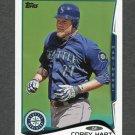 2014 Topps Mini Baseball #657 Corey Hart - Seattle Mariners