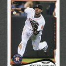 2014 Topps Mini Baseball #622 Dexter Fowler - Houston Astros