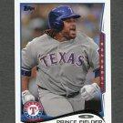 2014 Topps Mini Baseball #550 Prince Fielder - Texas Rangers