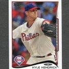 2014 Topps Mini Baseball #503 Kyle Kendrick - Philadelphia Phillies