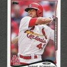 2014 Topps Mini Baseball #483 Shane Robinson - St. Louis Cardinals