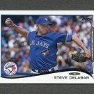 2014 Topps Mini Baseball #461 Steve Delabar - Toronto Blue Jays