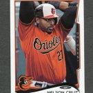 2014 Topps Mini Baseball #453 Nelson Cruz - Baltimore Orioles